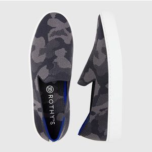 Rothy's Grey Camo Sneakers Size 6